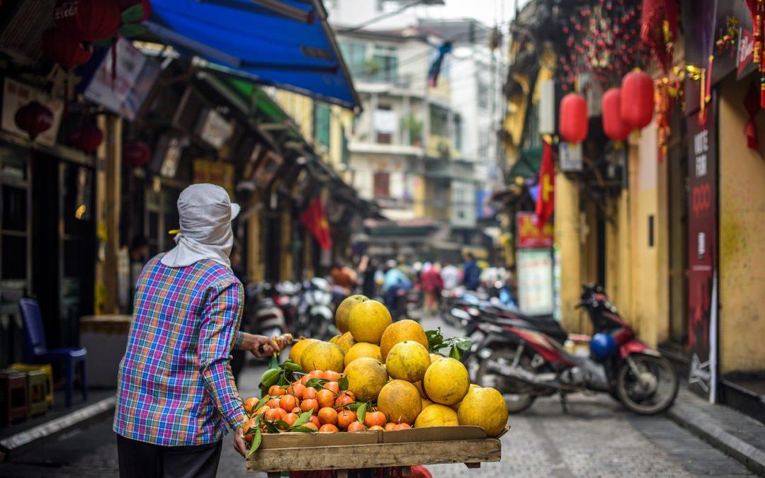 rue au vietnam